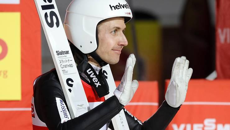 Simon Ammann hat auch im fortgeschrittenen Alter noch sportliche Ziele