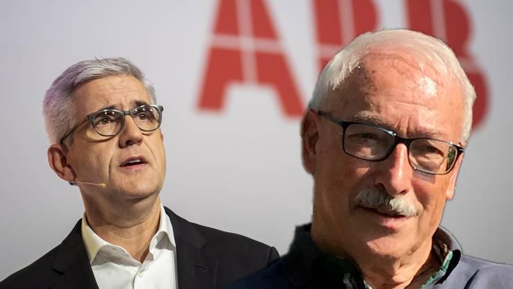 «Eine Schande» – alt Regierungsrat Rainer Huber (CVP) findet keinen Gefallen an der Argumentation von ABB-Chef Ulrich Spiesshofer für den Spartenverkauf.