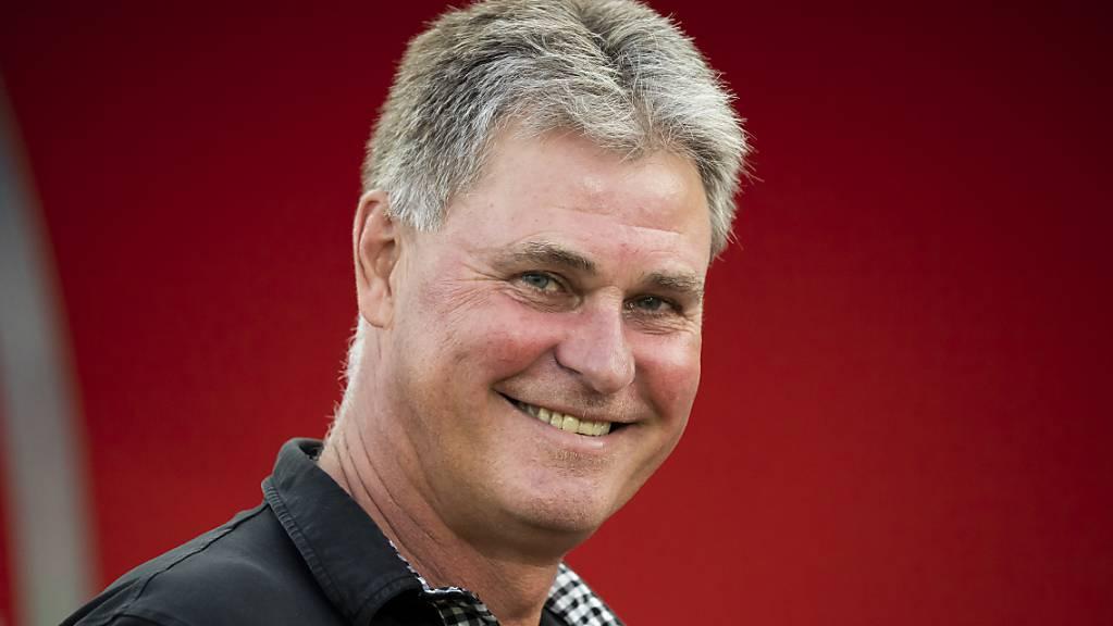 Das Grinsen eines Tabellenführers: Ralf Loose hat mit dem FC Winterthur aktuell gute Laune.