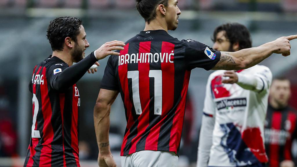 Ibrahimovic knackt 500-Tore-Marke - Milan bleibt Leader