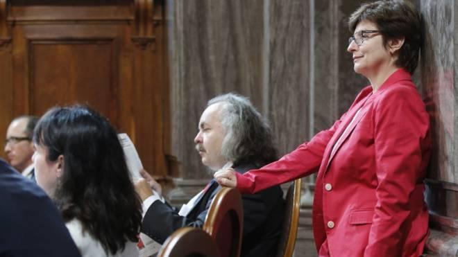 Die Basler SP-Ständerätin Anita Fetz kann sich vor den Wahlen zurücklehnen. Foto: Peter Klaunzer / Keystone