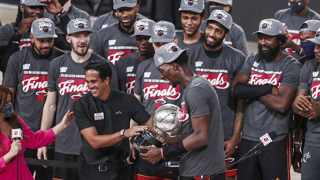 Miami Heat in der Finalserie der NBA