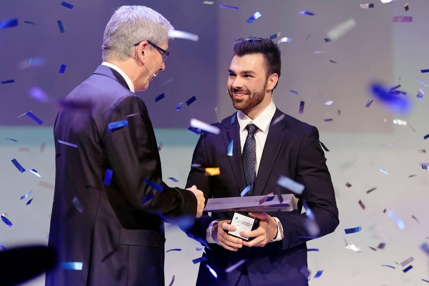 Oliver Hegi wird 2018 zum Aargauer des Jahres gewählt.