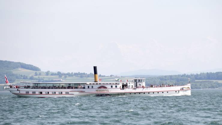 """Die """"Neuchâtel"""" hat eine Kapazität von 300 Personen. (Archivbild)"""
