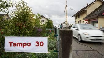 Der Gemeinderat wollte an Tempo 30 festhalten. (Archiv)