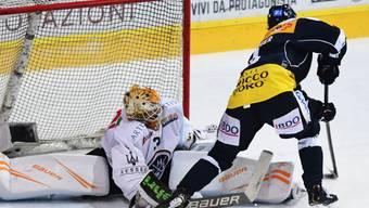 Der Österreicher Dominic Zwerger trifft zum 3:1