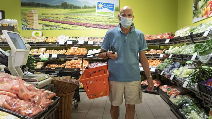 In Läden des Kantons Solothurn gilt ab jetzt eine Maskenpflicht. (Archiv)