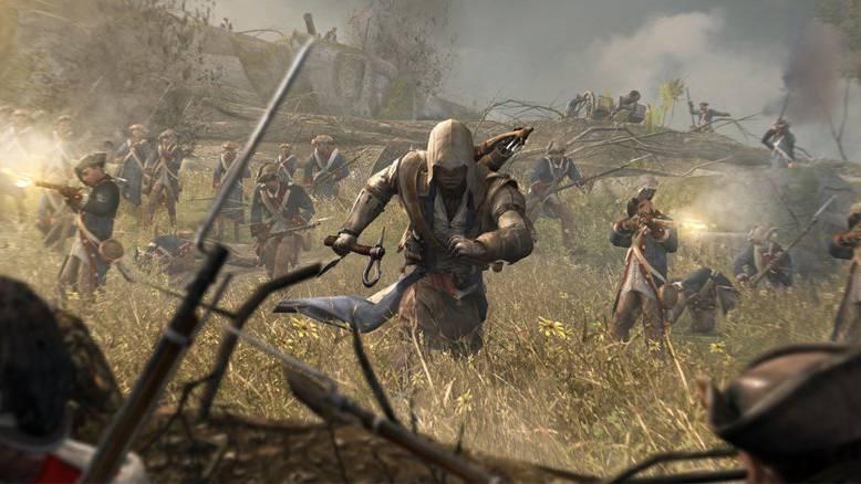 Szene aus «Assassin's Creed 3». Das Spiel gibt es für den PC jetzt gratis.