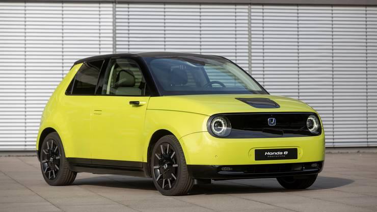 Der Honda e kommt ebenfalls 2020 auf den Markt. Bild: zvg