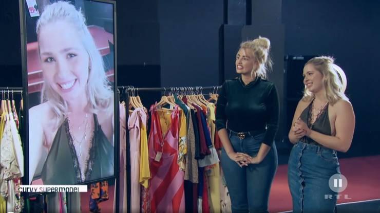 Bei einer Social-Media-Challenge mit Curvy Model Sarina Novak geht Vera als Siegerin hervor. Dafür darf sie mit Sarina ein Instagram-Foto machen.