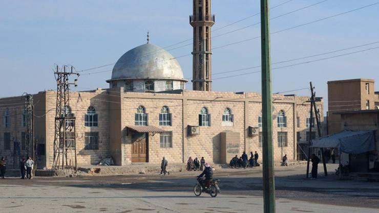 Moschee in Mahin in der syrischen Provinz Homs. (Archiv)
