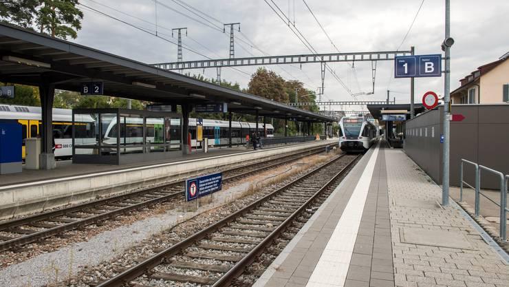 Vorübergehend Endbahnhof: Zwischen Kreuzlingen und Konstanz fallen voraussichtlich bis Donnerstagmittag alle Züge aus. (Archivbild)