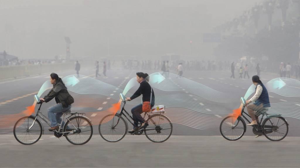 Velo Smog Free Project Studio Roosegaarde