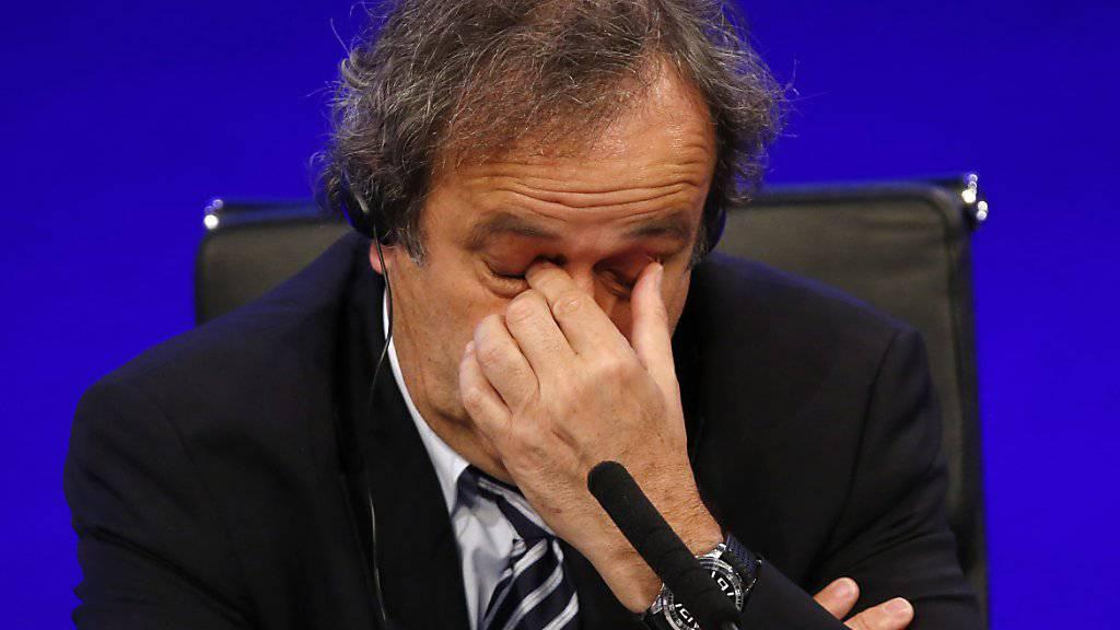 Michel Platini erlebt schwierige Zeiten