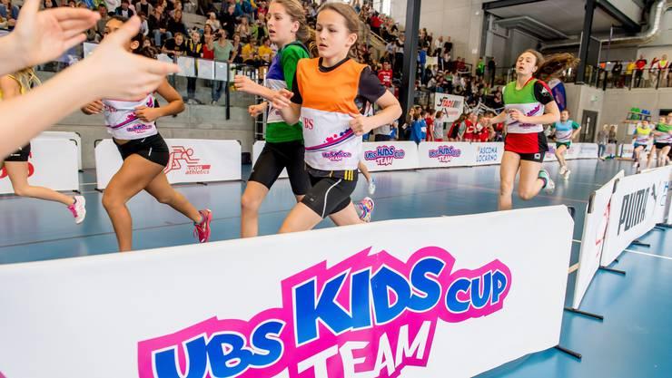 Eindrückliche Atmosphäre beim allerersten Final des Team Kids Cup im Kanton Aargau – im Go Easy in Siggenthal.