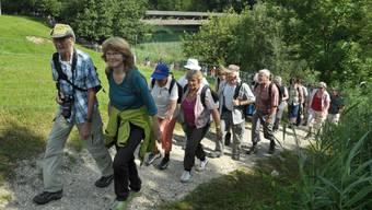 az-Leserwandern neunte Etappe: Von Bremgarten um den Flachsee