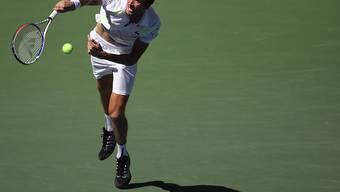 Dynamisch und überzeugend: Daniil Medwedew kam zum Auftakt des US Open kaum ins Schwitzen