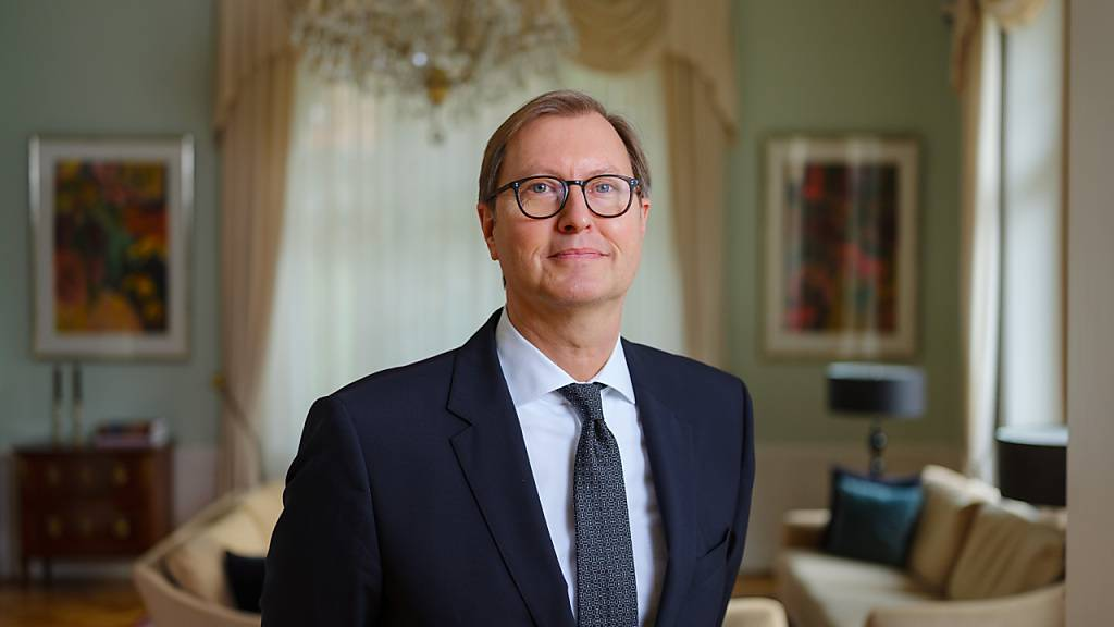 Michael Flügger, Botschafter der Bundesrepublik Deutschland in der Schweiz, nimmt die Diskussion über ein Rahmenabkommen der Schweiz mit der EU als sehr ideologisch wahr. (Archivbild)