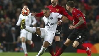 Kylian Mbappe und die Pariser stellen Manchester United vor unlösbare Probleme