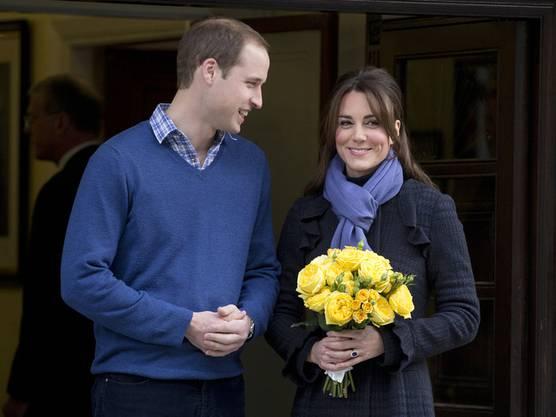 Im Juli soll es soweit sein: William und Kate erwarten Nachwuchs