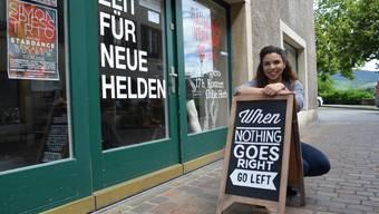 Jennifer Papatzikakis wird zwar ihre Stammkunden vermissen, freut sich aber auf ihr Studium in Luzern.