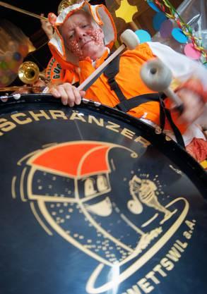 Die Musiker aus dem Säuliamt gingen wortwörtlich mit Pauken und Trompeten zu Werk.