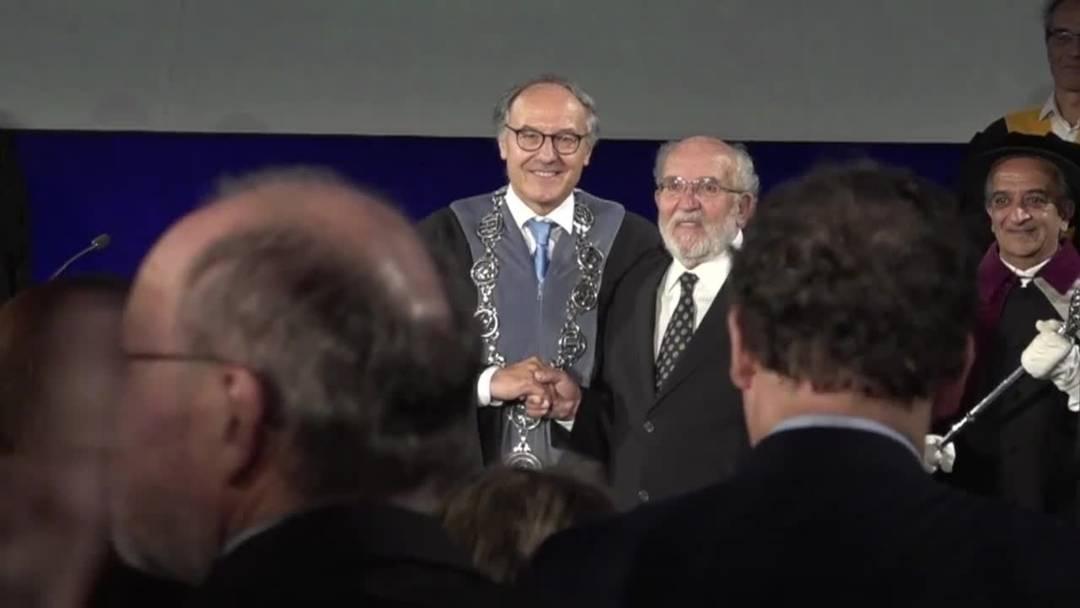 Ehrung des Nobelpreisträgers Michel Mayor