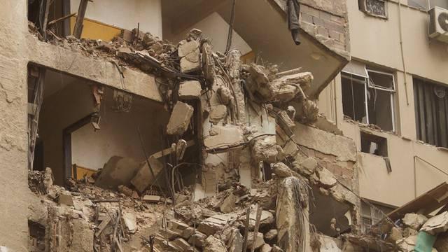 Überreste eines eingestürzten Hauses in Rio de Janeiro (Archiv)