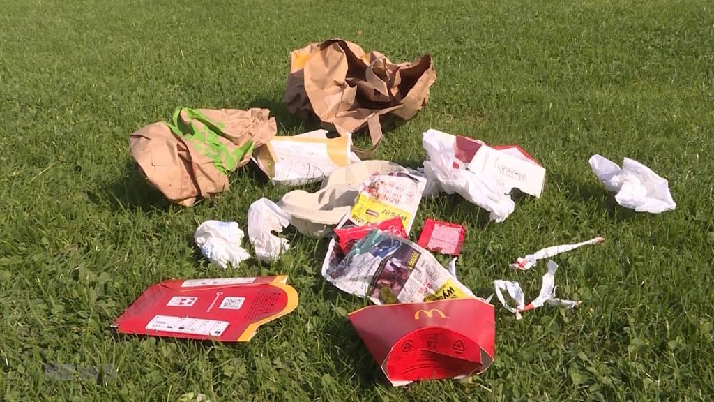 McDonalds's räumt auf