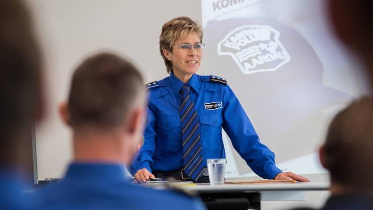 Irene Schönbächler wird Direktorin der Interkantonalen Polizeischule Hitzkirch (IPH). Mathias Marx (Archiv)