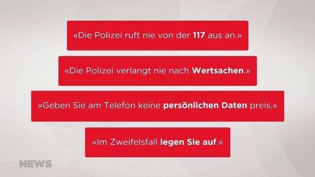 Falsche Polizisten noch immer am Werk
