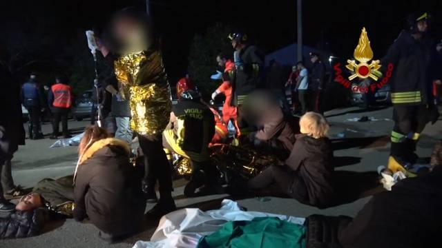 6 Tote bei Massenpanik in Italien