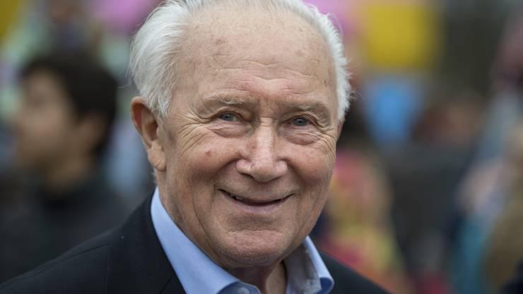 Sigmund Jähn starb im Alter von 82 Jahren. (Hendrik Schmidt/dpa via AP)