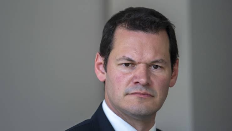 Der Genfer Staatsrat Pierre Maudet.