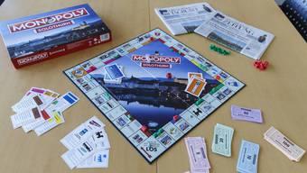 Die Stadt Solothurn hat seit kurzem ein eigenes Monopoly.