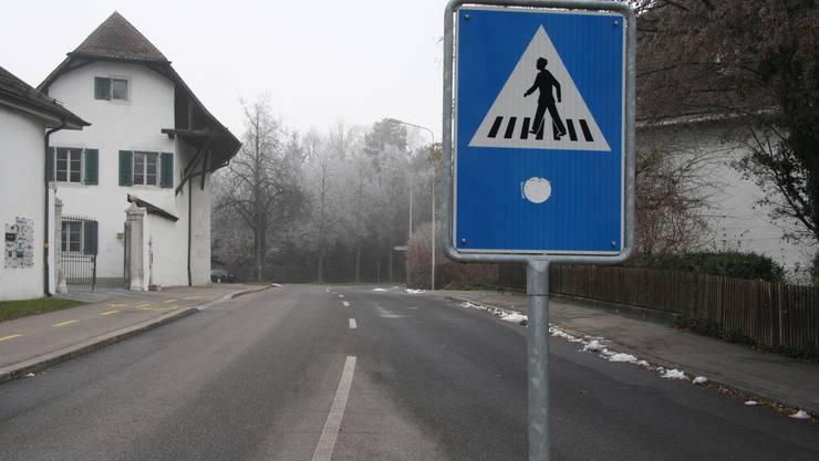 Ab hier könnte beim entsprechenden Entscheid schon Tempo 30 auf der St. Niklausstrasse gelten