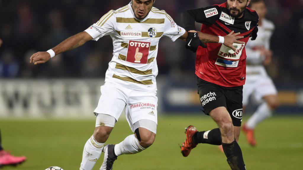 Dario Lezcano (links) wechsel von Luzern zu Ingolstadt