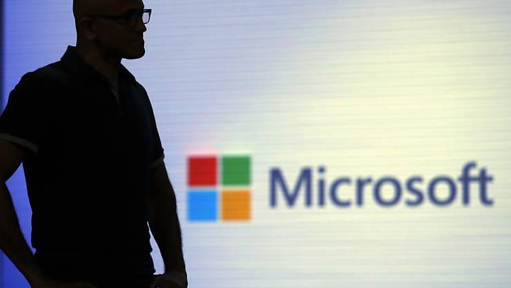 Der Microsoft-Konzern hat am Donnerstag sehr gute Quartalszahlen präsentiert. (Archivbild)