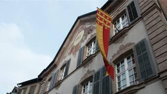 Die SP ist ab 2018 nicht mehr im Stadtrat vertreten. Das gab es seit mindestens 1945 noch nie. (Archiv) das Rathaus von Rheinfelden.