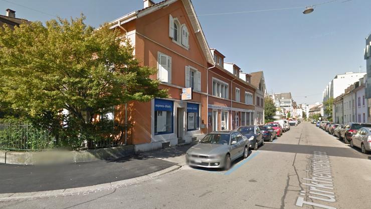 Rund zehn Tage war das Haus an der Türkheimerstrasse besetzt. Am Montag hat die Polizei nun das Haus geräumt.