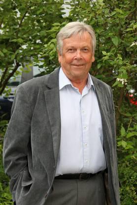 Gründungsmitglied Hansjörg Barrer.