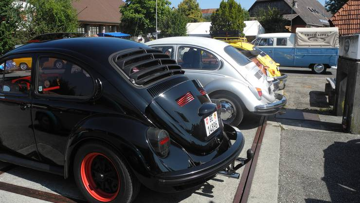Vor allem VW Käfer der verschiedensten Jahrgänge waren zu sehen