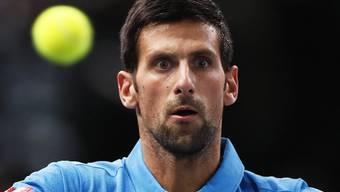 Novak Djokovic  bangt um seinen Thron