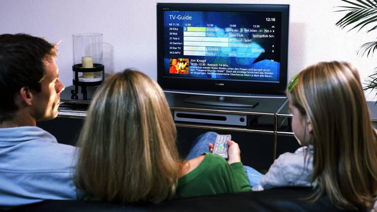 Volkssport in der Schweiz: Mit Replay-TV zeitversetzt fernsehen und die Werbung überspringen.