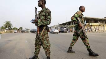 Die meuternden Soldaten in der Elfenbeinküste haben sich mit der Regierung auf eine Solderhöhung geeinigt. (Archiv)