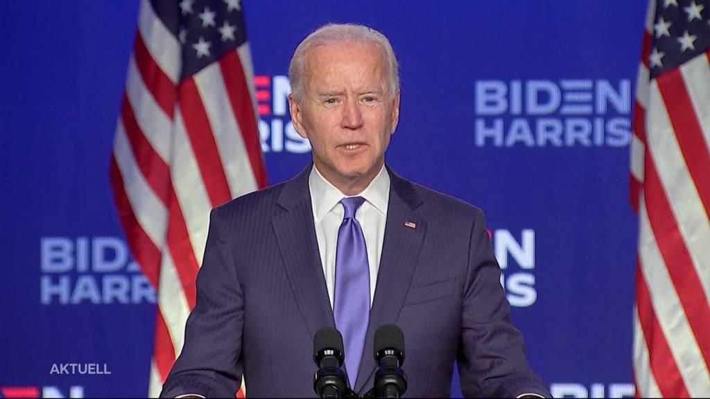 Joe Biden wird der neue Präsident der USA