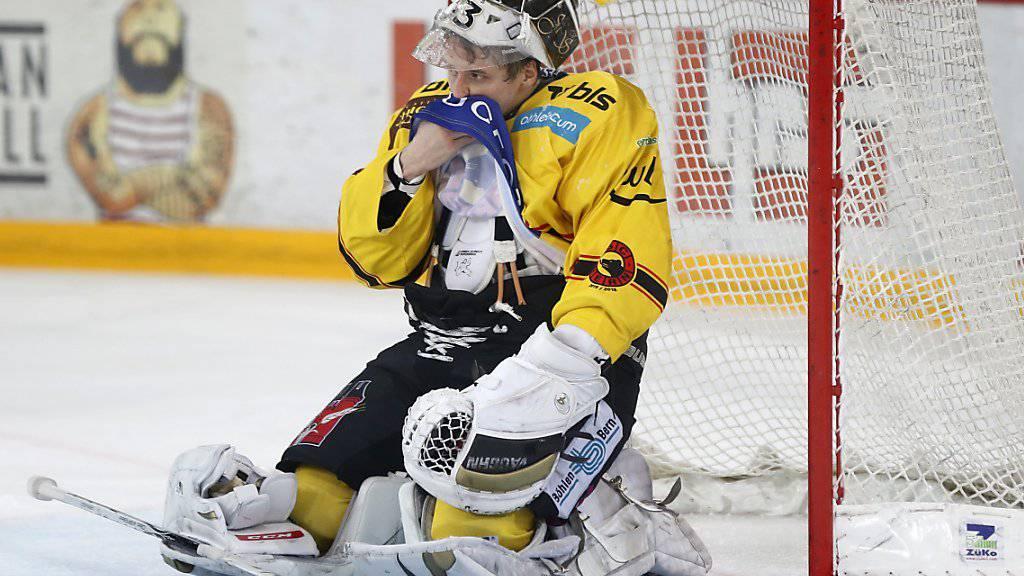 Berns Torhüter Jakub Stepanek einmal mehr geschlagen