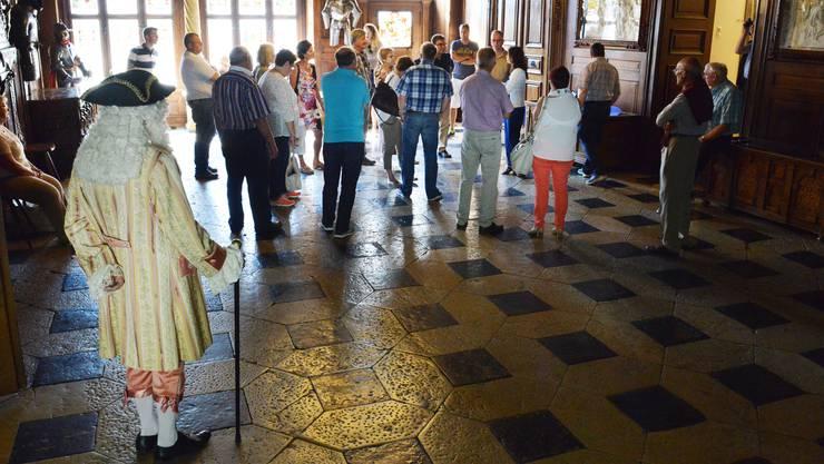 Auf den Themenführungen erfahren die Gäste viel Spannendes zur Geschichte von Solothurn.