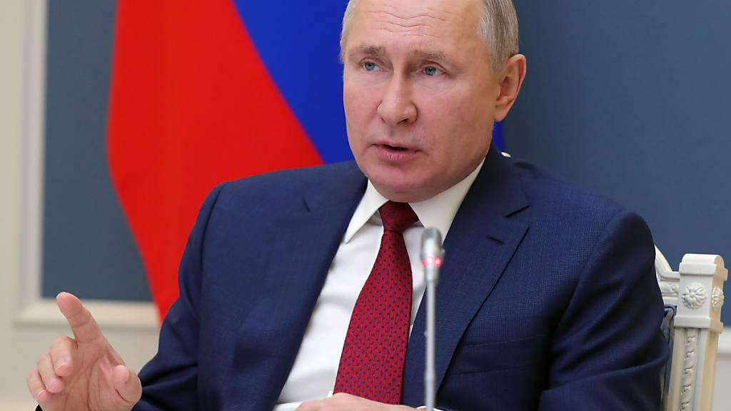 Putin an Europa: Müssen «Phobien der Vergangenheit» loswerden