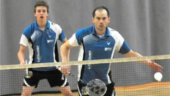 Eingespieltes Duo: Christian Kirchmayr (hinten) und Rémy Matthey de l'Etang von Uni Basel. Dürrenberger